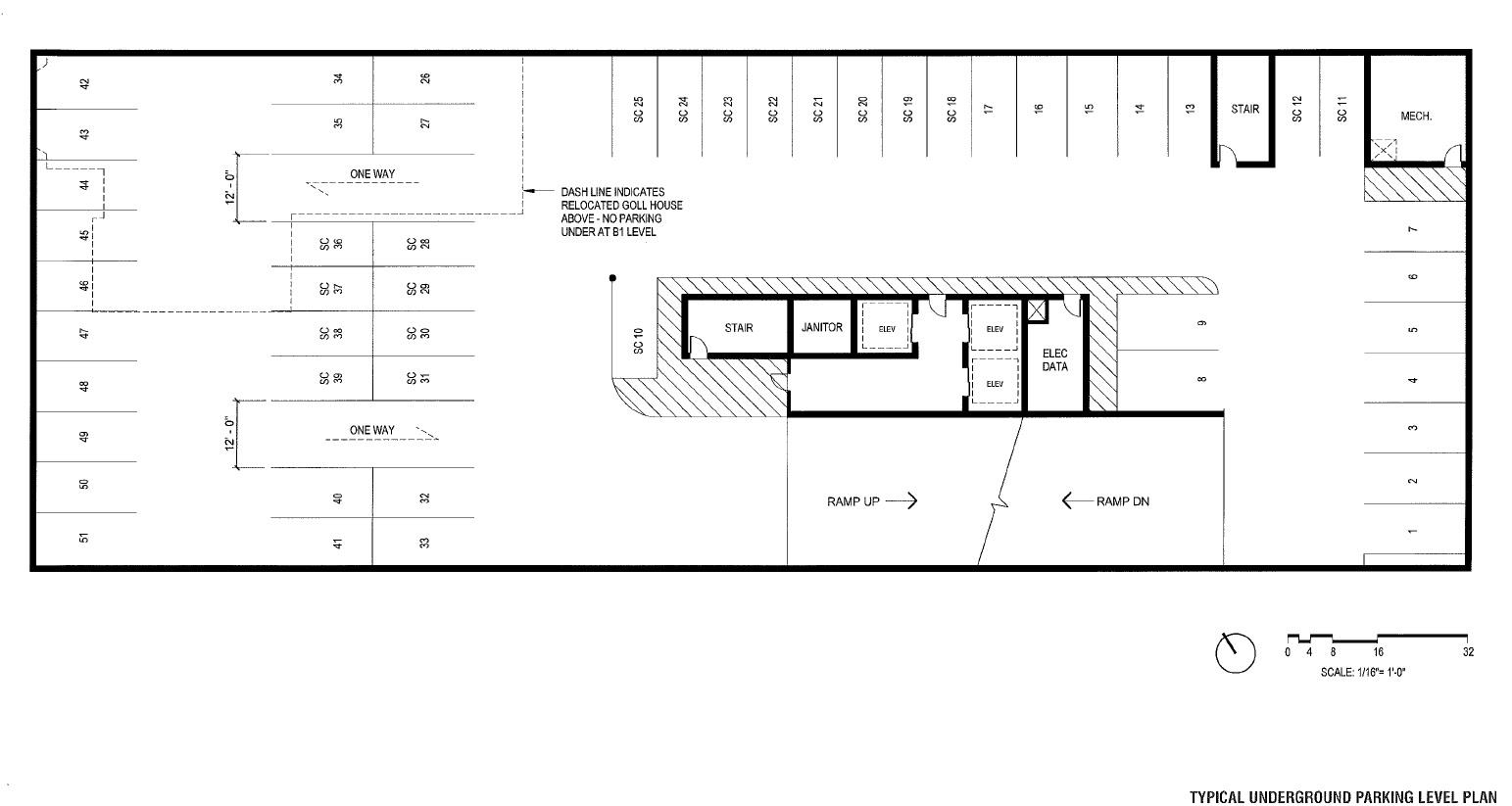 1550 Underground Parking Plan