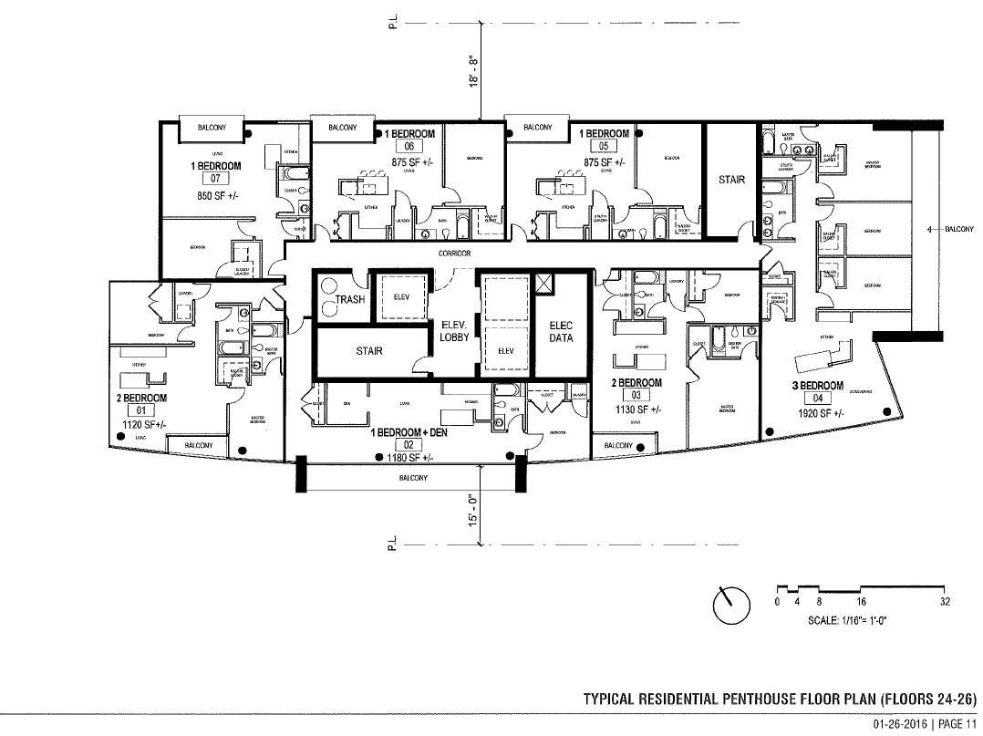 1550 Penthouse Floors