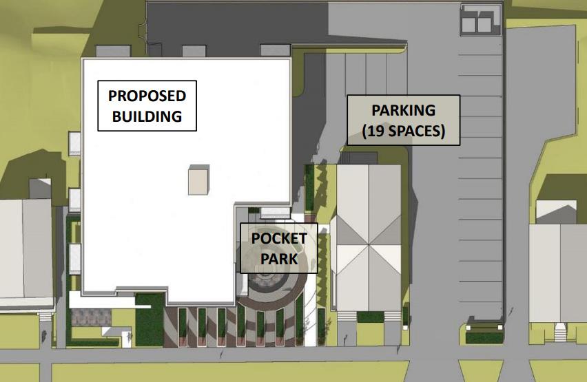 1627 N. Jackson St. Site Plan
