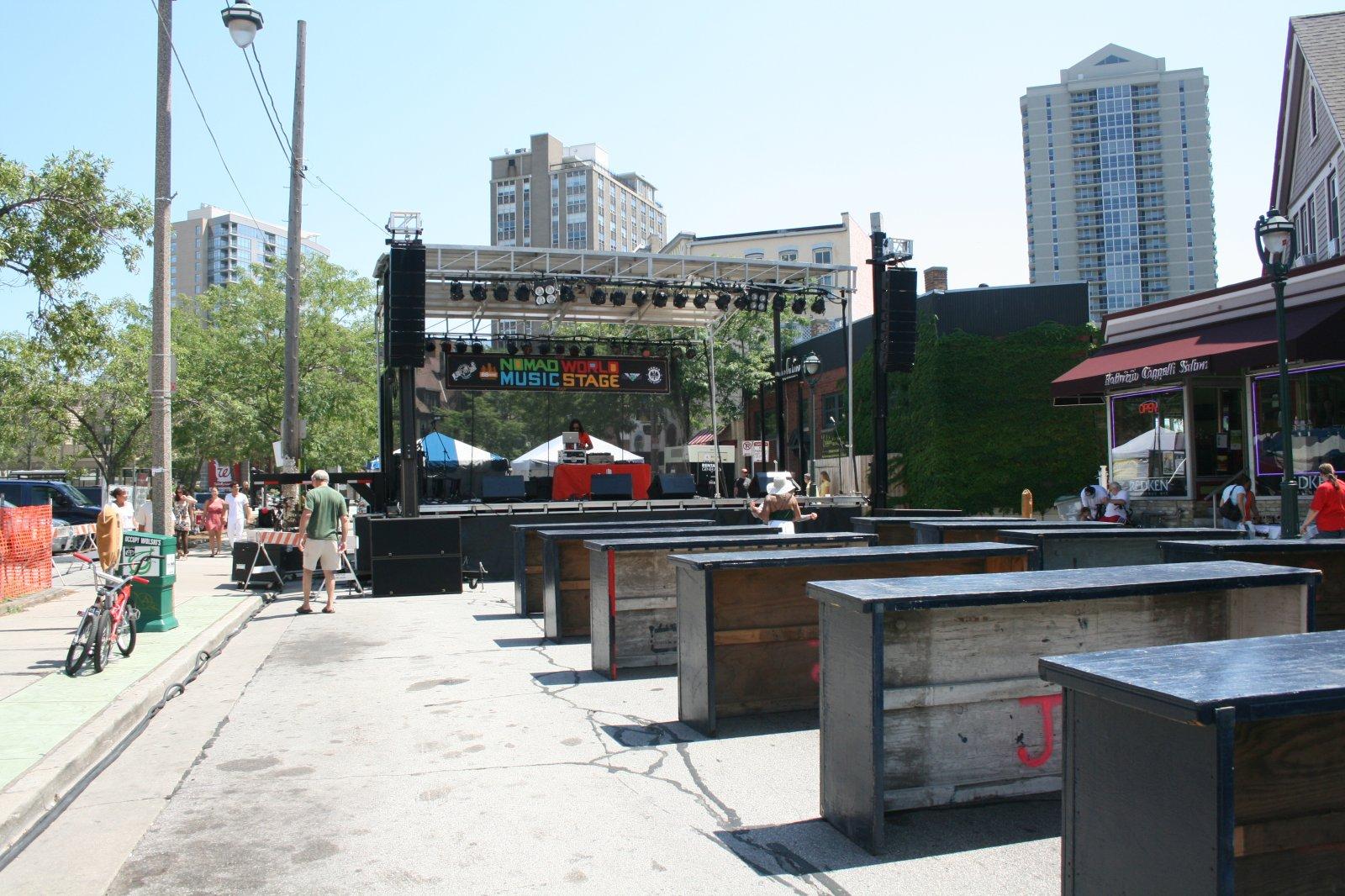 Nomad World Music Stage