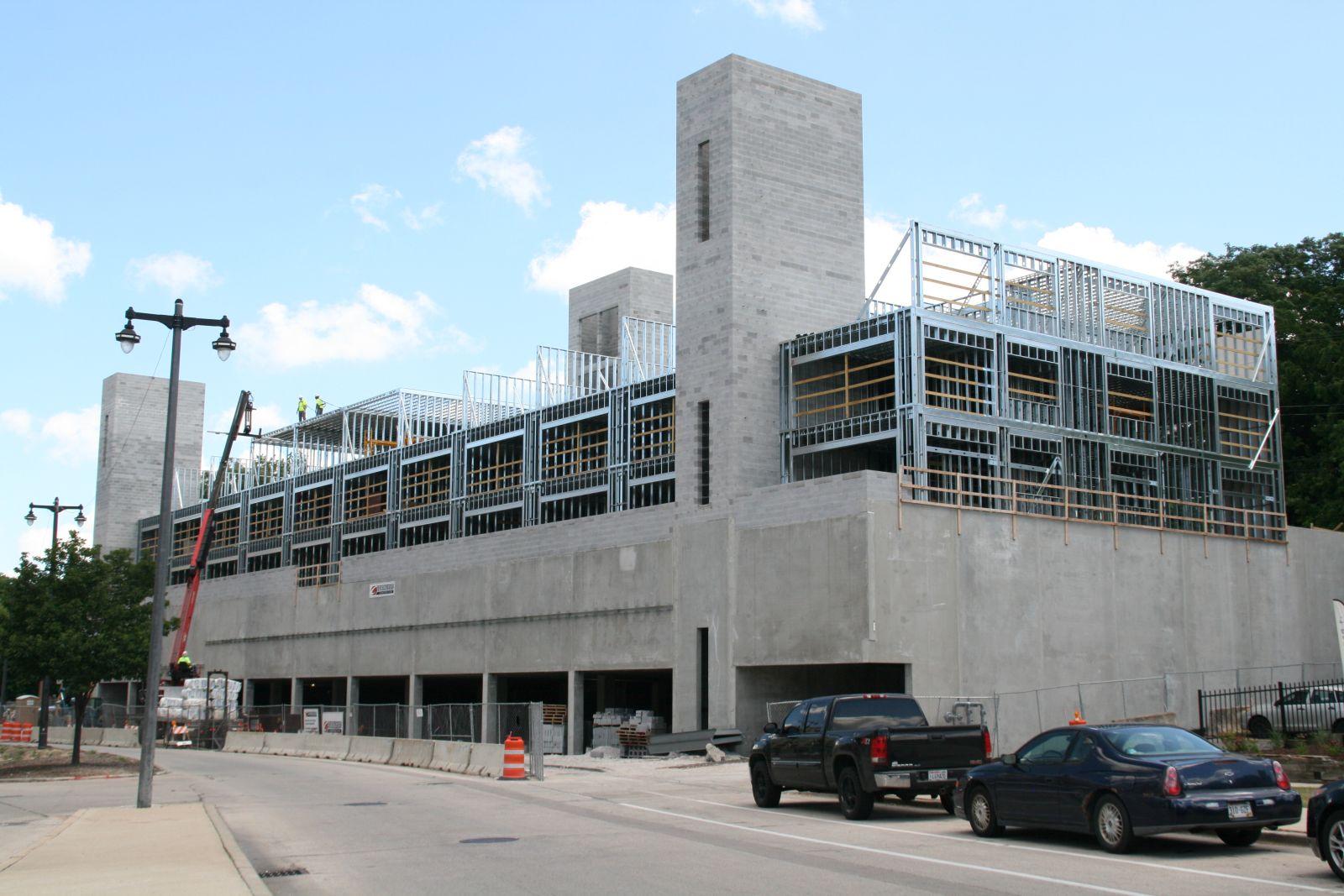 Construction at Rhythm Apartments