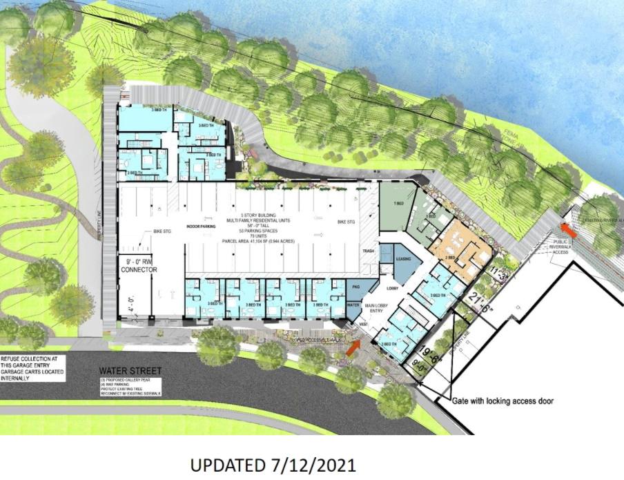 EIGHTEEN87 on Water Revised Site Plan