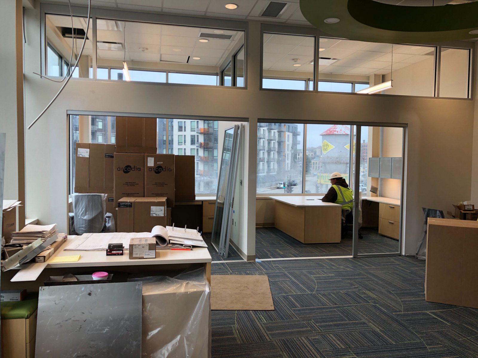 North Shore Bank - Downtown Branch Interior