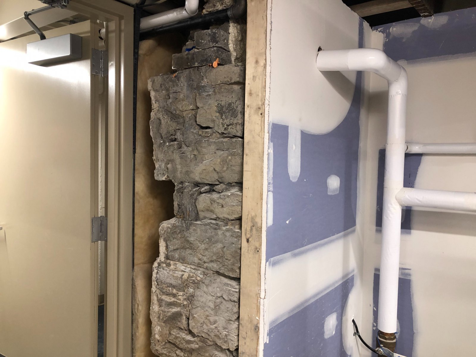 North Shore Bank - Exposed Basement Structure