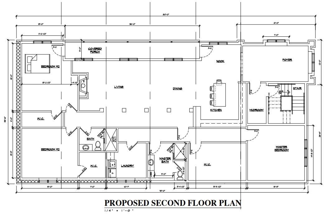 Beach House\'s Brady Street Plan