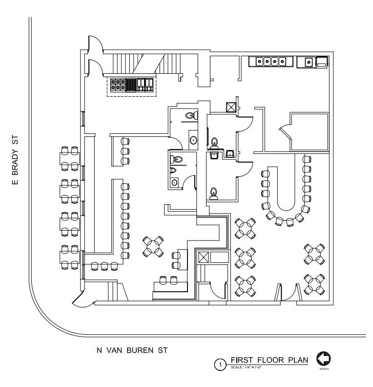 707 E. Brady St. Plans