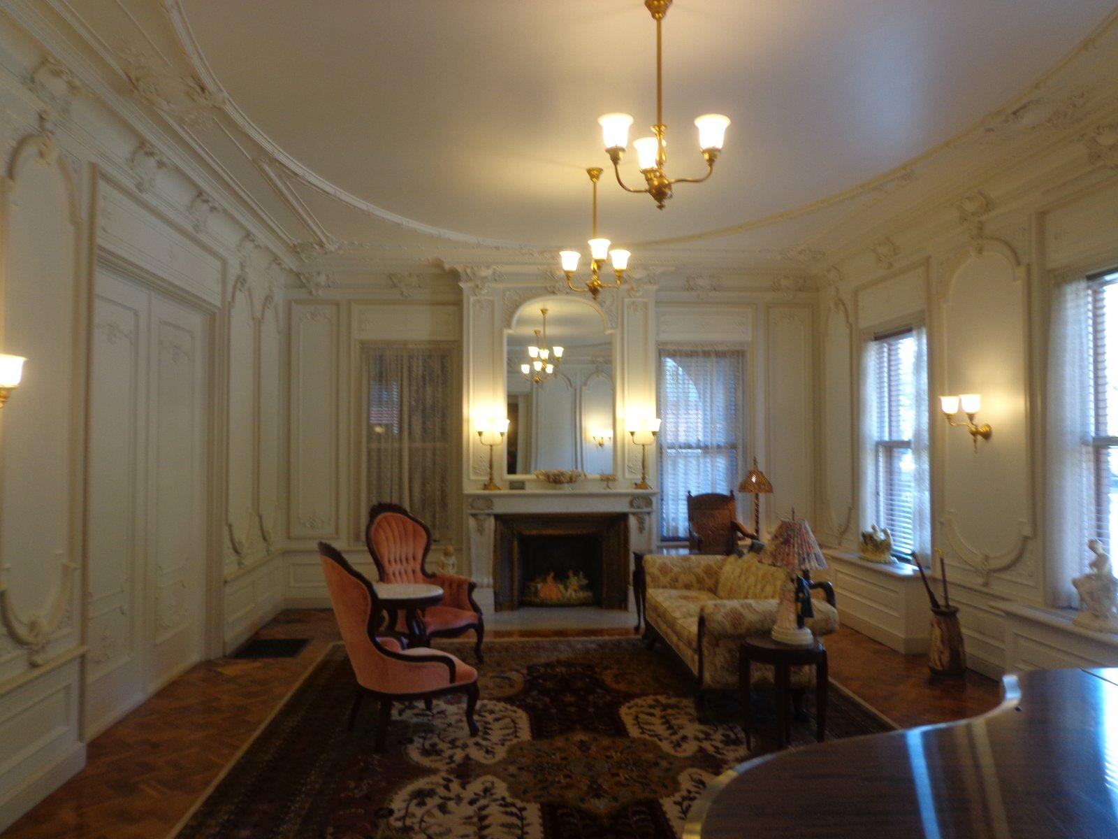 Beautiful first-floor room.
