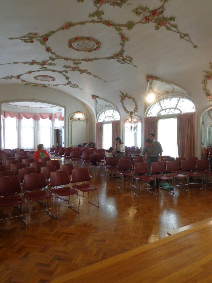 Helen Bader Recital Hall.