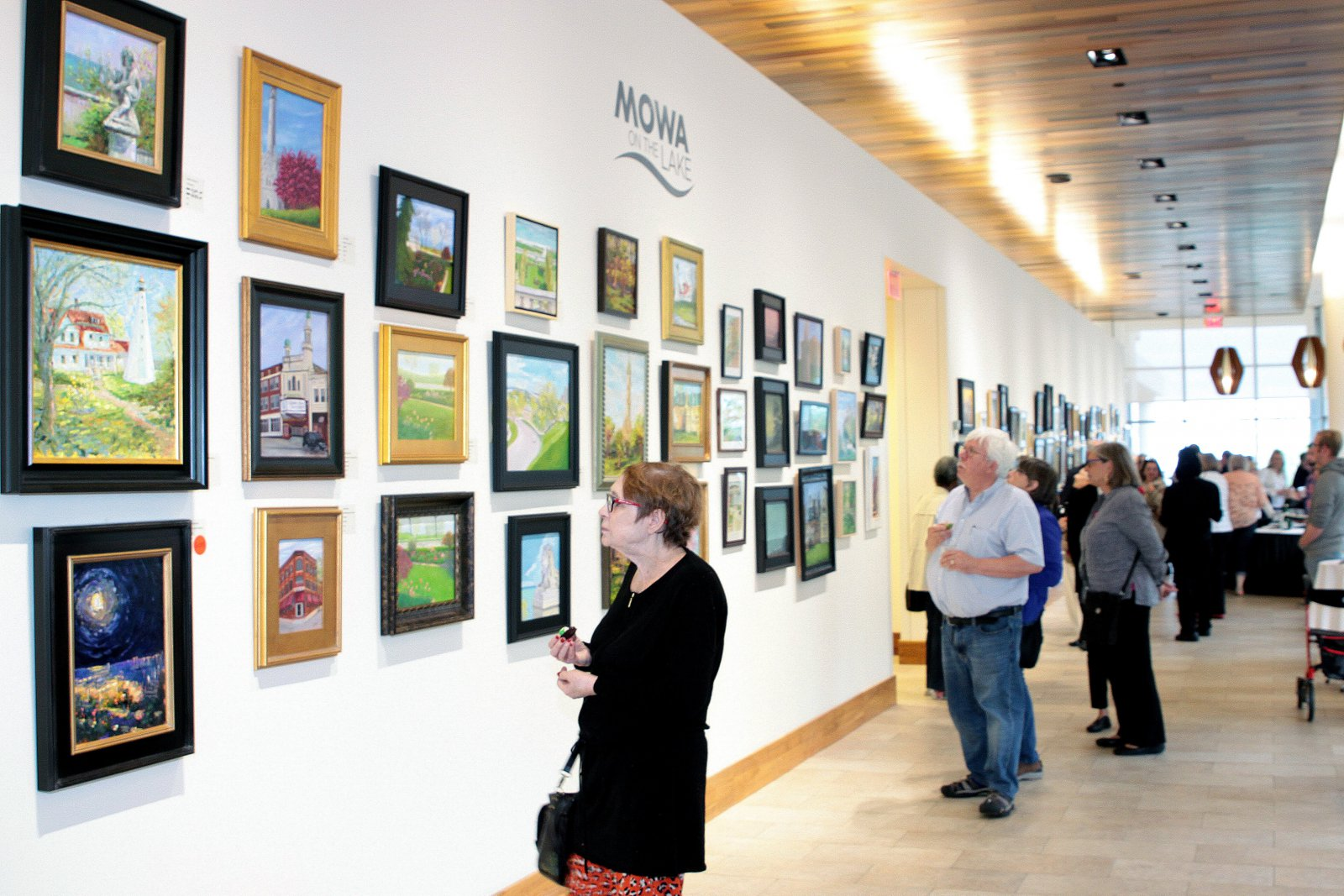 First-look members only art sale at Saint John's On The Lake.