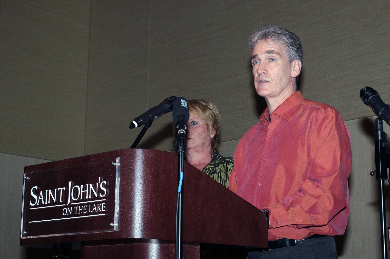 Kevin Walzak was the presenter at the Art in the City Soirée Artist awards ceremony.