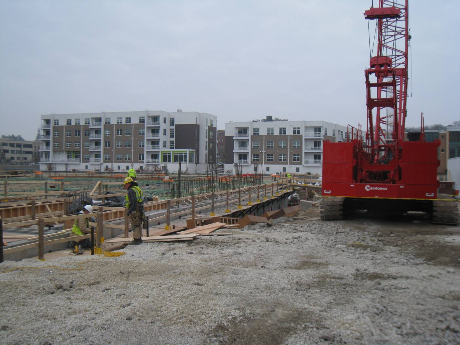 The North End - Phase III Construction
