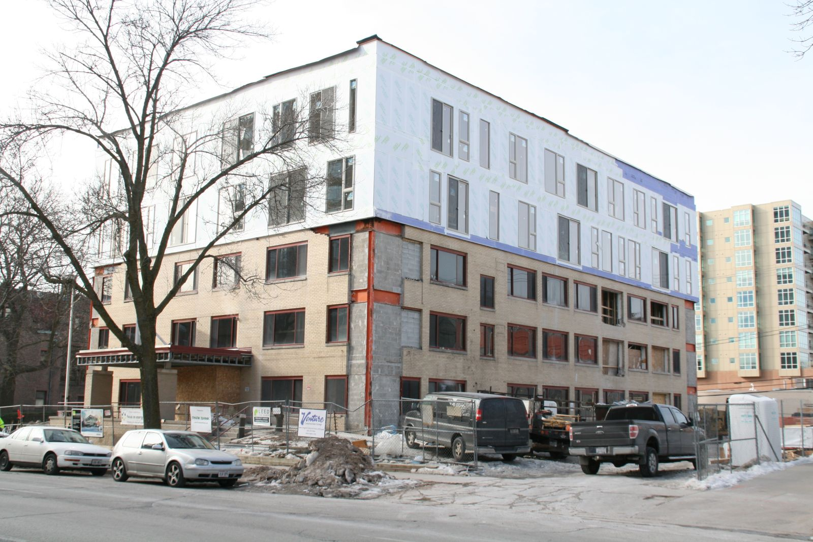 Sage on Prospect Construction