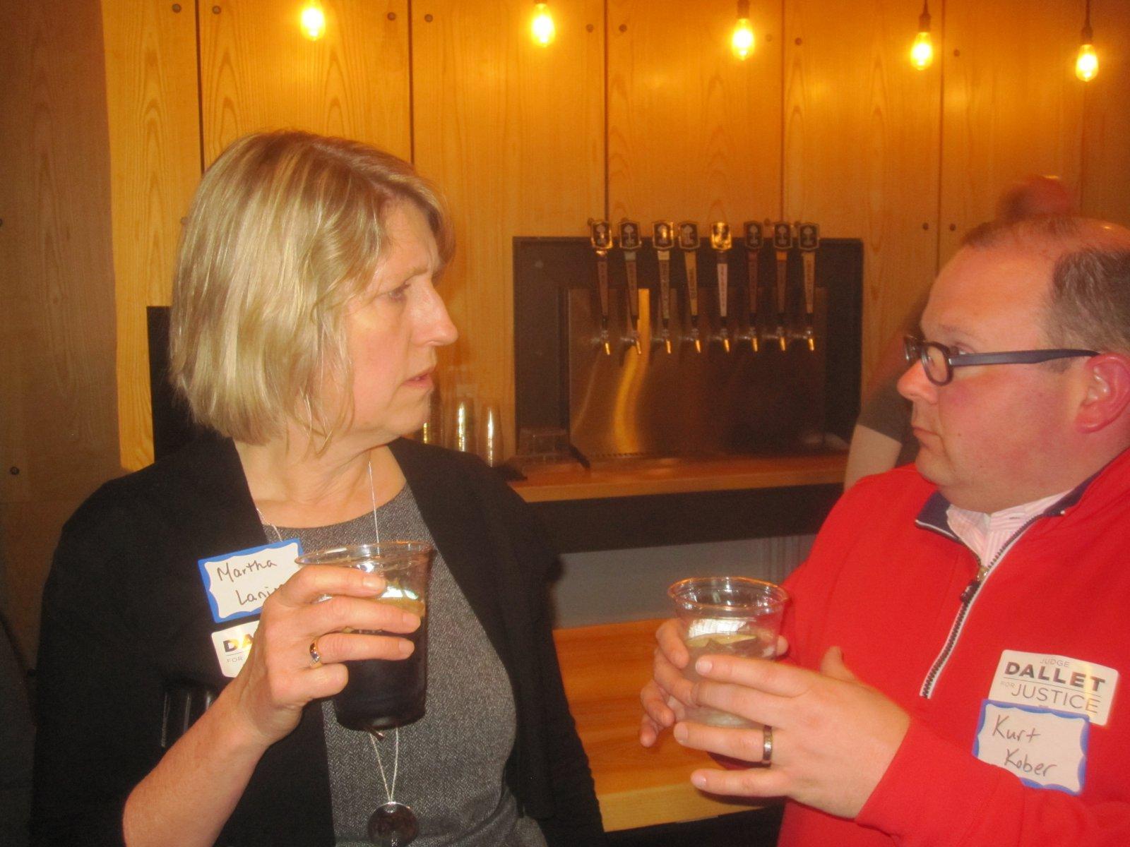 Martha Laning and Kurt Kober