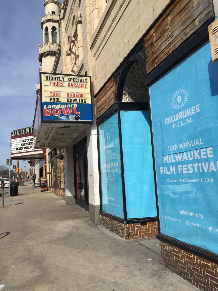 Milwaukee Film Storefront