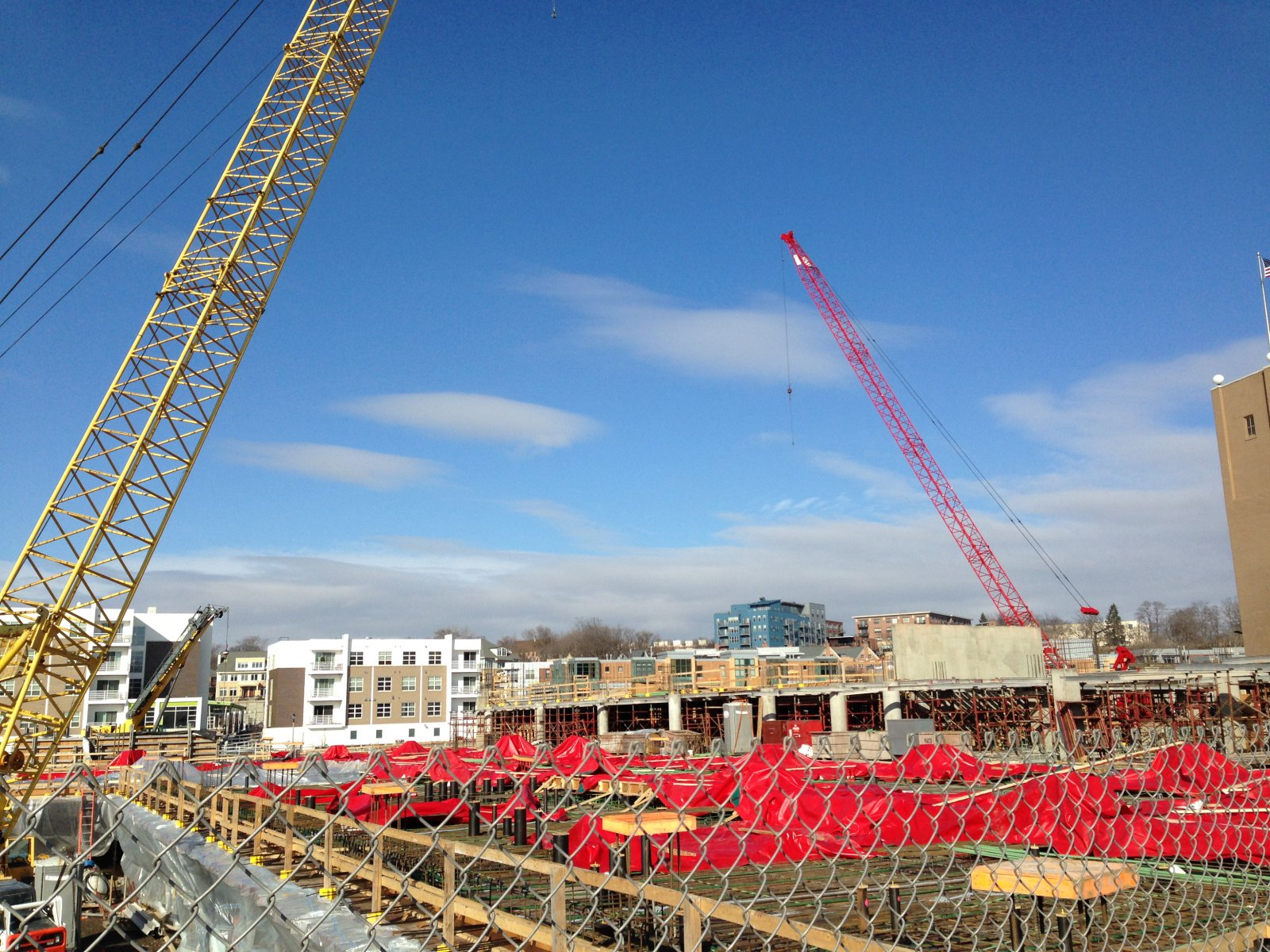 The Third Phase of the North End is under construction.
