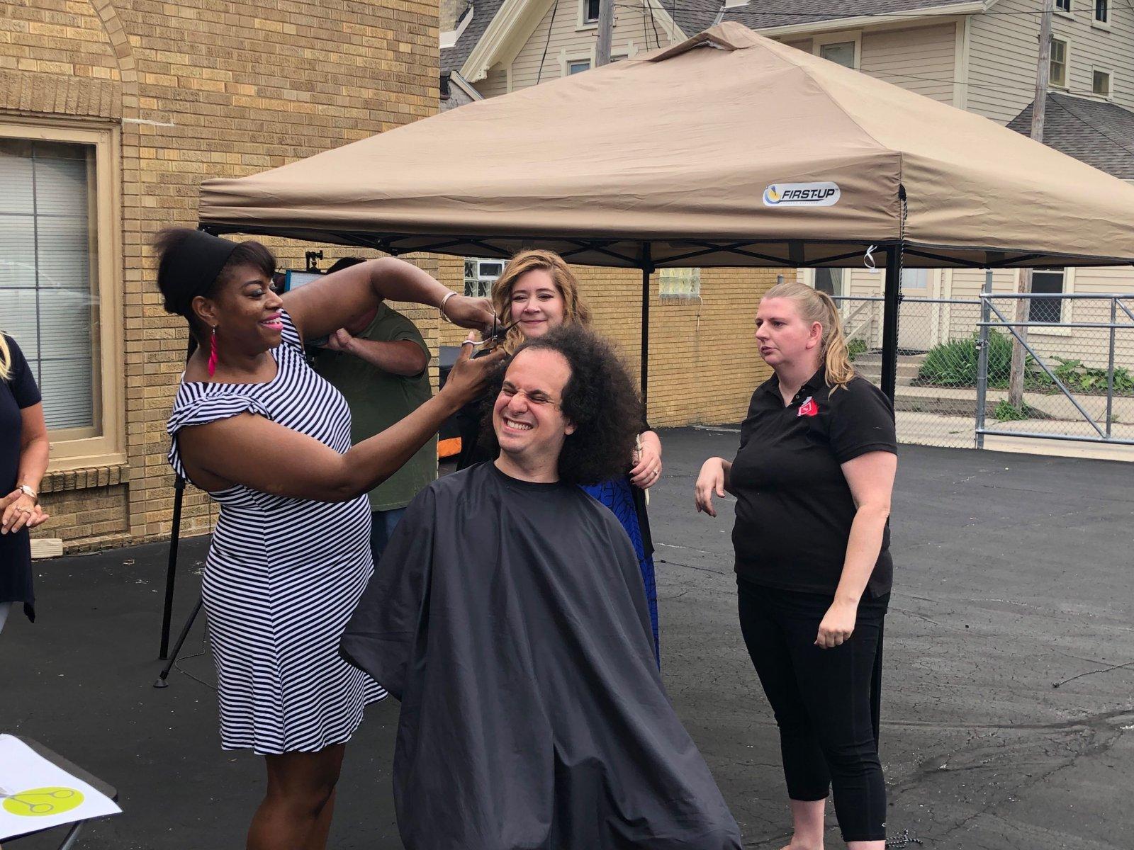 Hair Cut Fundraiser