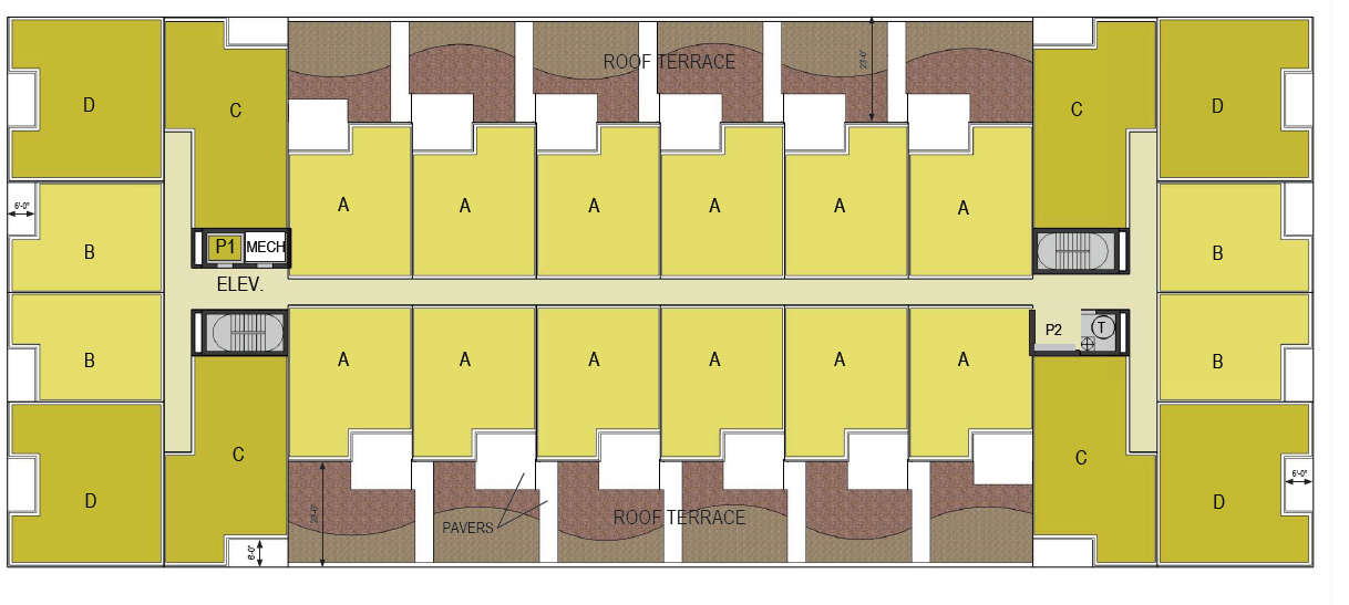 Franklin Arlington Apartments Floor Plan