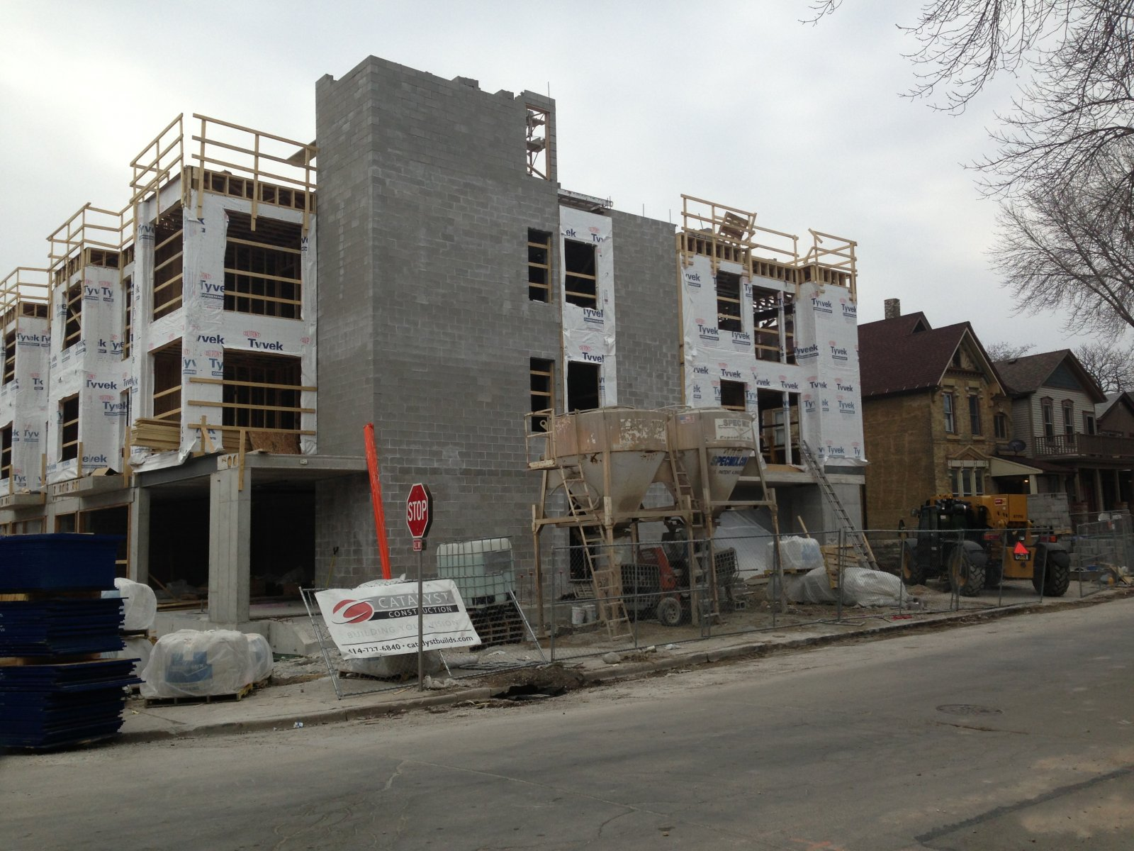 1601 N Jackson St. Under Construction.