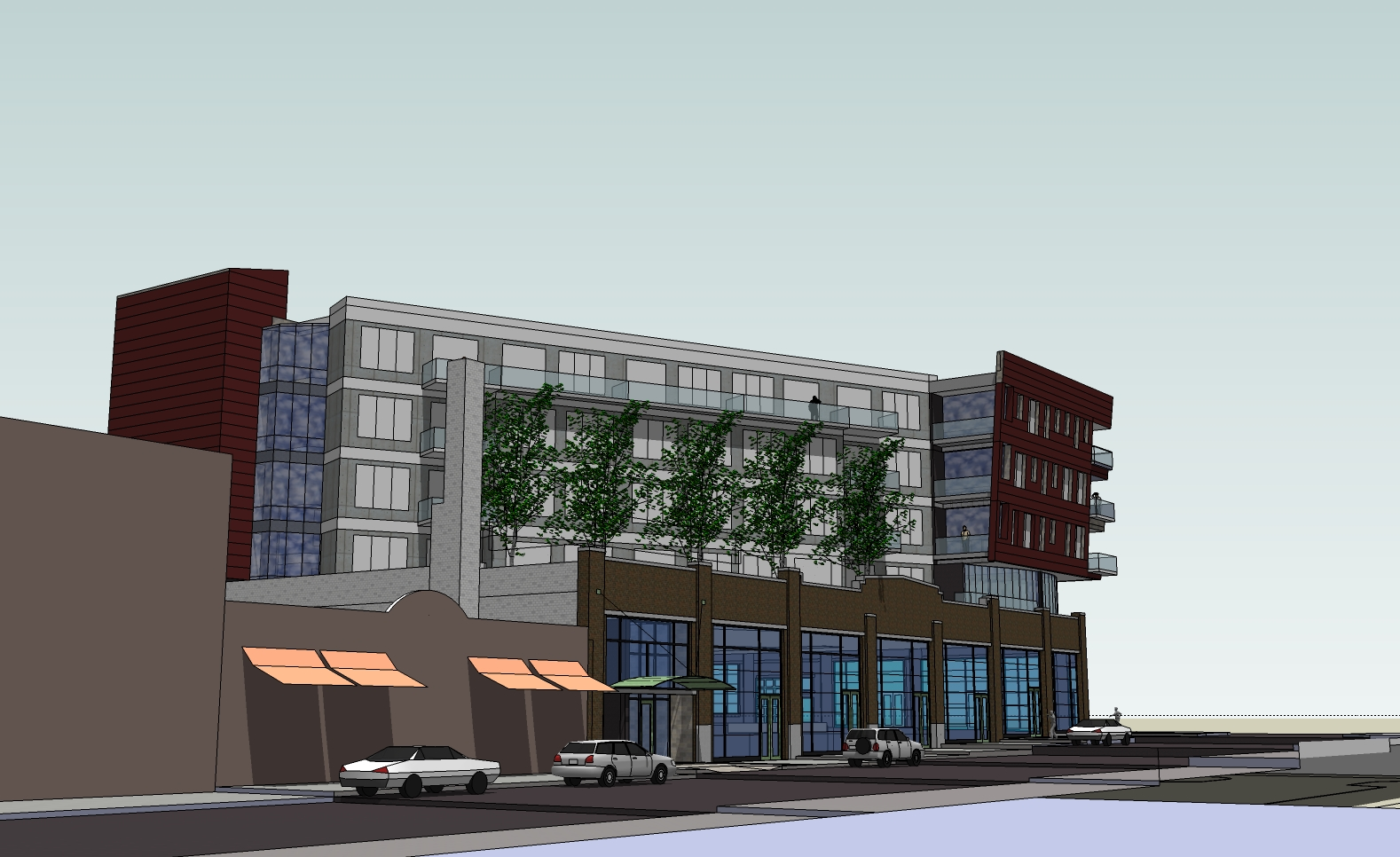 Prospect Mall Apartments Rendering