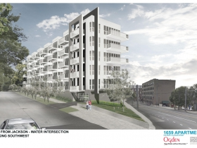 1659 Apartments Rendering
