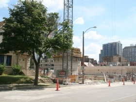 Construction at 1840 N. Farwell Ave.