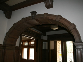 Goll House Woodwork
