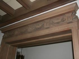 Goll House Woodwork
