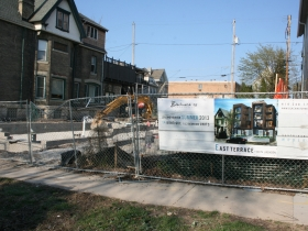1530 N. Jackson St. under construction.