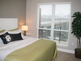 Bedroom at River House