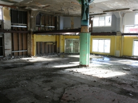 Prospect Mall with a Floor Removed