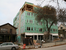 1627 N. Jackson St. Construction