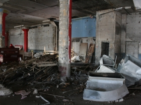 Demolished Movie Theater