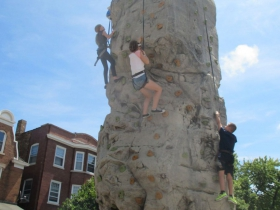 Adventure Rock Climbing Wall