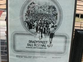 Brady Street Festival Poster