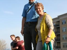 Ken Leinbach and Julily Kohler
