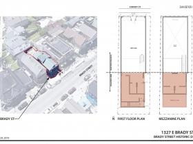 1327 E. Brady St. Plan