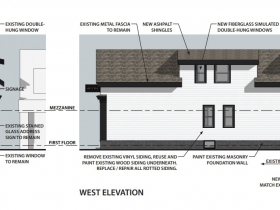 1327 E. Brady St. Elevations