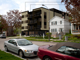 Plan Commission Recommends Approval of Five-story Apartment Building