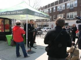 ZipCar announcement.