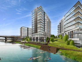 Brady & Water Condominium Renderings