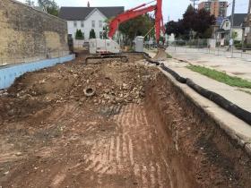 1348 E. Brady St. Construction