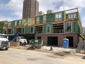1632 N. Franklin Pl. Construction