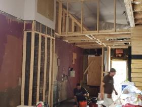 Baccanera under construction