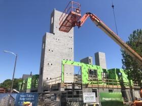 St. Rita Square Construction