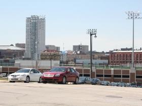 MSOE Parking Garage & The Moderne