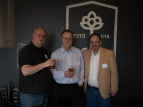 Dave Reid, Bruce Murphy, and John Casper.