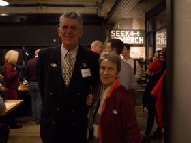 Michael Horne and Julilly Kohler