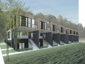 Arlington Row Rendering