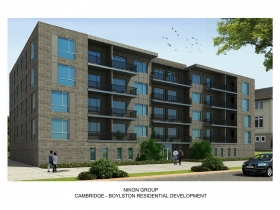 Cambridge - Boylston Residential Development Rendering