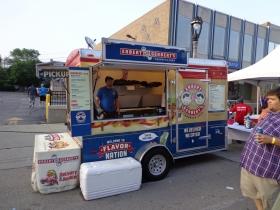 Erbert and Gerbert's Sandwich Shop Food Truck Trailer.